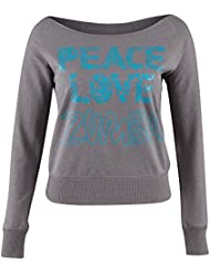 Zumba Fitness Peace T-Shirt manches longues Femme