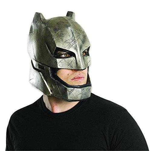 Batman vs Superman Maske aus Vinyl Batman Armoured für Erwachsene