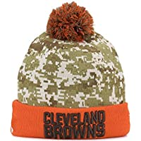 newest 9e2c1 61996 ... germany cleveland browns new era 2015 nfl sideline salute to service  sport knit hat 40e1c 33476