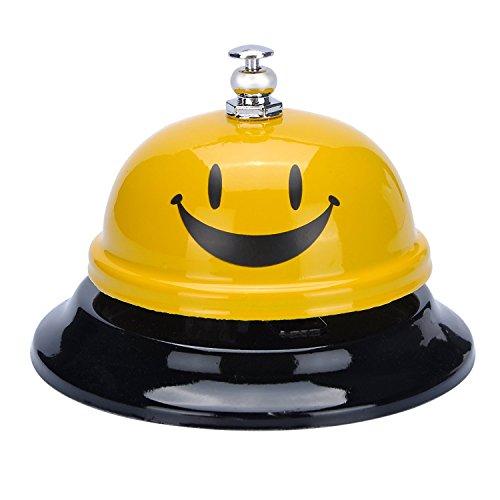 BESTIM INCUK Service-Glocke für Lehrer, ältere Menschen, Patienten, Kinder, Kellner, Hunde, ideal für die Verwendung in Hotel, Restaurant, Bar, Küche, Büro, Klassenzimmer, Krankenhaus, Rezeption