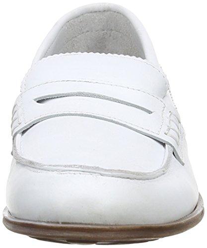 Marta Jonsson - 5291, Mocassini Donna Bianco (Bianco (White))