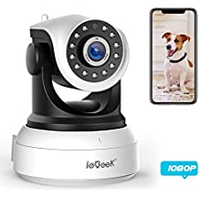 [NEW UPDATE] ieGeek 1080 IP Camera WiFi Home Security Surveillance Indoor Wireless Camera with HD Night Vision
