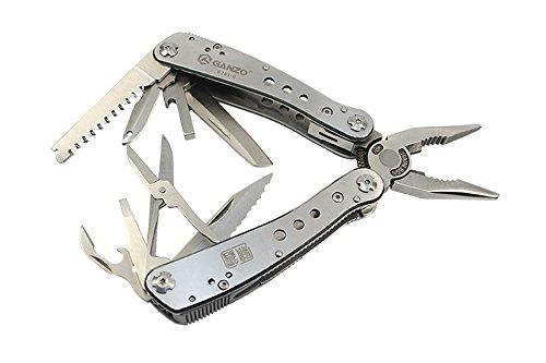 Ganzo Couteau de Poche Multi Tool, Multicolore, Taille Unique, G201 de H