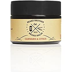 Beard Brother Bartpomade CANNABIS-CITRUS - Beard Balm strong