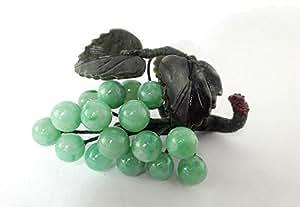 Grappe de raisin déco en Jade