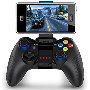 Game Controller Wireless, PowerLead Handy Controller Perfect for PUBG and Most Games, Wireless Controller for Android/IOS, Fast Response Speed and Comfortable Grip