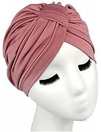 Amazon.es  turbantes - Gorros de punto   Sombreros y gorras  Ropa 1c897781867