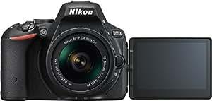 Nikon D5500 Appareil Photo numérique Reflex 24,2 Mpix Kit Objectif AF-P 18-55 mm VR Noir