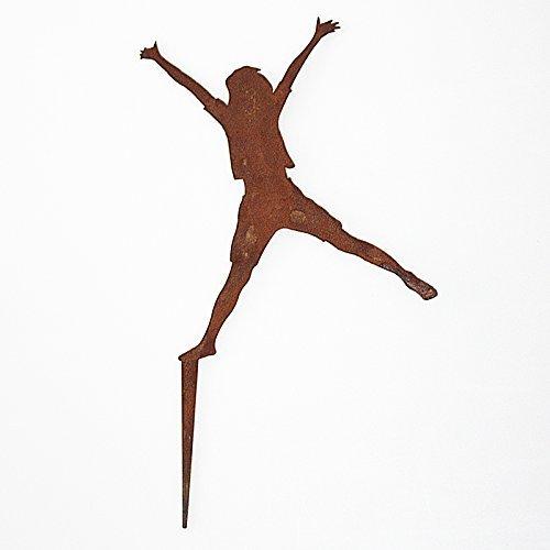 SAREMO Rost JOY Figur Annika, H ca. 20 cm + Spieß