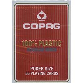 ASS- Carte Poker, Colore Rosso (Regular), 10.40.01.334A