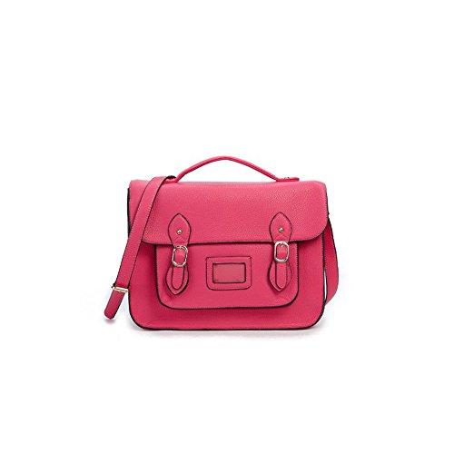 Yasmin Bags, Borsa a secchiello donna 12345 Rose Pink