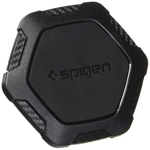 Spigen Kuel QS11 Auto Magnet Handyhalterung Schlankes Profil Hexagon Design, KFZ Halterung Lüftung, schwarz
