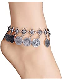 TBOP ANKLET THE BEST OF PLANET SIMPLE & STYLISH Jewelry Fashion With The Retro Style Metal Coin Tassel Anklet...