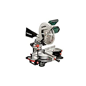 Metabo 619003000 619003000-Ingletadora KS 305 M-2.00 Kw-305 mm (láser Integrado), Verde – Negra, 0
