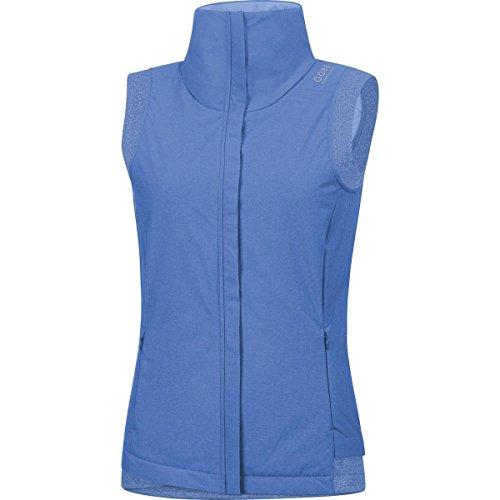 Gore Running Wear Damen Warme Stadt-Laufweste, Primaloft Isolation, Gore Windstopper, Sunlight Lady GWS Vest, Größe: 40, Hellblau, VIWSUN