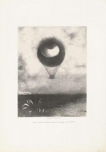 Das Museum Outlet–bewegt sich das Auge, wie eine Strange Ballon Infinity, 1882–Leinwand Print Online kaufen (152,4x 203,2cm)