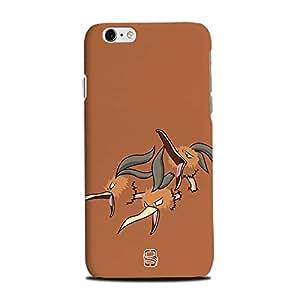 AllDeviceSkin Pokémon Character High Quality Print Hard Back Case Cover for Apple iPhone 6S (Design-Pokemon-85)