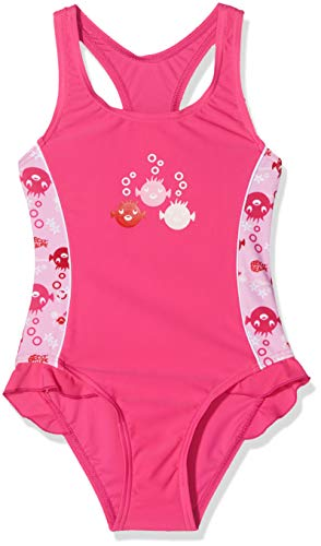 7ec23530af Beco Sealife Girl's Bathing Costume with UV Protection Pink pink Size:2  years