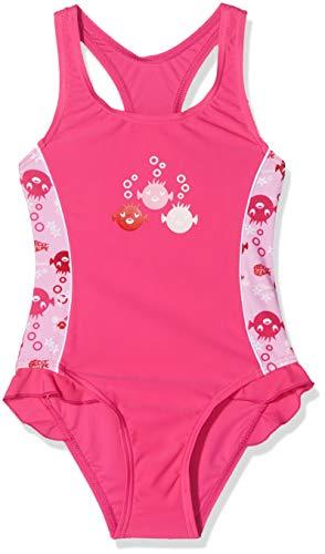 Beco Mädchen UV-Badeanzug Sealife Schwimmanzug, Rosa (Pink/04), 110 Preisvergleich