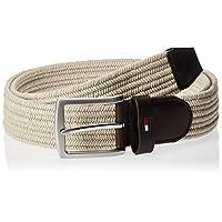 Tommy Hilfiger Men's Denton Woven 3.5 Belt, (Grey 064), 95