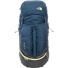 North Face Fovero 70 - Mochila, color azul / amarillo, talla SM