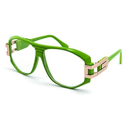 Kiss Brillen in neutralen OLD SCHOOL mod. SPECIAL - optischen rahmen HIP-HOP mann frau VINTAGE - GRÜN