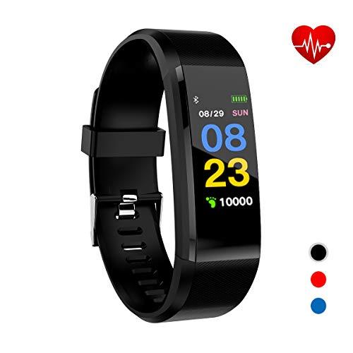 Xnuoyo Fitness Tracker, Orologio Fitness Cardiofrequenzimetro da Polso Schermo a...