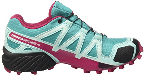 Salomon Speedcross 4 Gtx W, Scarpe da Trail Running Donna Turchese (Ceramic/aruba Blue/sangria)
