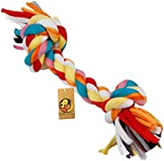 Foodie Puppies Durable Dog Chew Rope Toy for Small to Medium Dogs - Interactive Teething Rope Toy to Play with