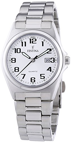 Festina Ladies Watch F16375/9 With Steel Strap