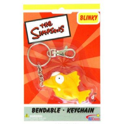 Simpsons Blinky le 3-Eyed Fish Bendable porte-clés [Apparel] [Apparel]