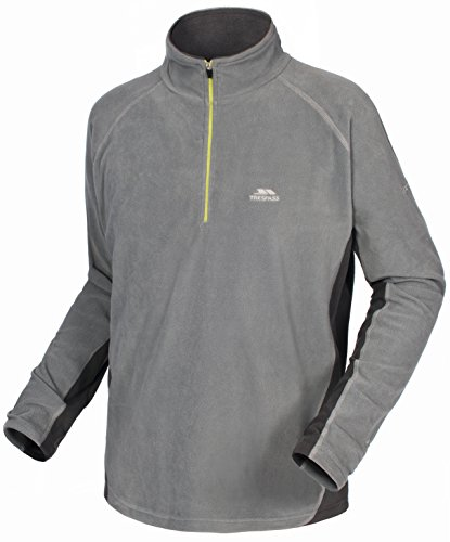 Trespass Herren Tron Microfleece Smoke