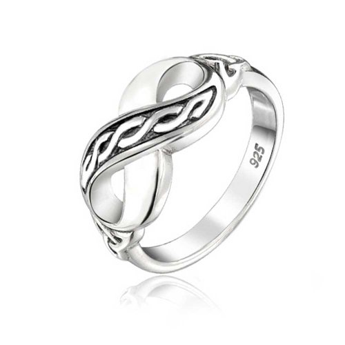 Bling Jewelry Triquetra Trinity Nudo celta plata...