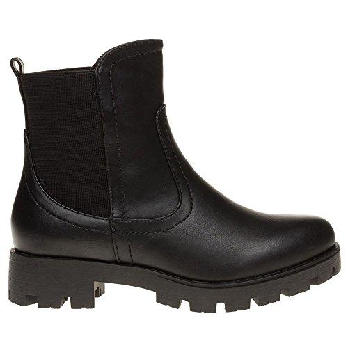 Xti 28774 Femme Boots Noir Noir