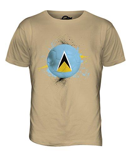 CandyMix St. Lucia Fußball Herren T Shirt Sand