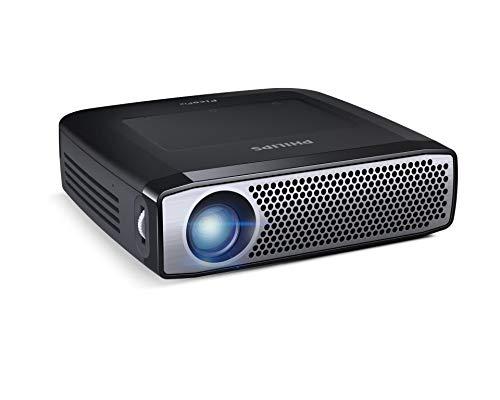 \'Philips PicoPix-Projektor/Taschenprojektor ppx4935/EU-FH300L (350ANSI Lumen, DLP, 720p (1280x 720), 100000: 1, 16: 9, 381-3810mm (15-150))