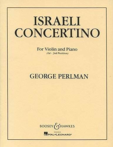 Israeli Concertino for Violin and Piano