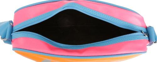 Gola Classics  Redford Bright, Damen Umhängetasche Arancione - Rosa - Blu