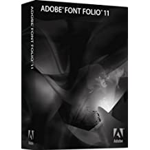 Adobe Font Folio 11.1 - Software De Gestión Multimedia, Ingles, DOC, MLP