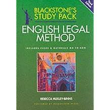 Blackstone's Study Pack: English Legal Method (Blackstone's Study Packs)