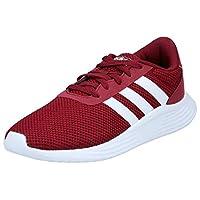 اديداس حذاء رياضي للرجال ، مقاس 40.7 EU ، عنابي