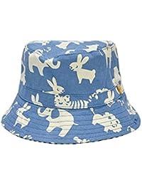 d75c48eaaa9 Chapeaux Enfant Cartoon Animal Pattern Casquette de baseball pour enfants  Baby Fishmen Hat Chapeau de soleil pour 0-4 ans (bleu) Bonnet…