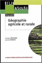 Géographie agricole et rurale