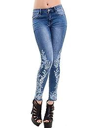 896b85eabb Amazon.it: jeans donna con ricami - XL / Donna: Abbigliamento