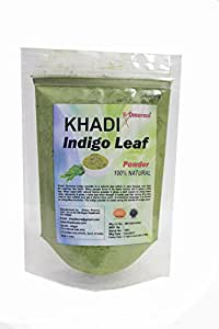Khadi Omorose Indigo Leaves Powder, 100 gm