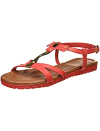 Bata Women's Jenny Red Fashion Sandals - 3 UK/India (36 EU)(5615402)