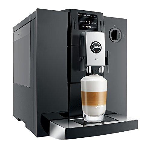 JURA 15127 F9 Automatic Bean-to-Cup Coffee Machine, Piano Black