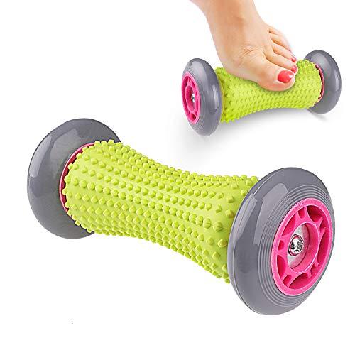 Reastar Fussroller Massageroller Muskel Roller Stick, Hand und Fuß Massage Roller für Plantarfasziitis, Tool zur Erholung bei Muskelschmerzen und Schmerzlinderung für Hacken Fußgewölbe