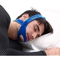 Correa De Mentón Anti-ronquidos Premium De Prechkle Para Usuarios De CPAP - Correa De Mentón Anti-ronquidos Ajustable Para Hombres Y Mujeres,Facilitar la Respiración y Dormir Cómodo.