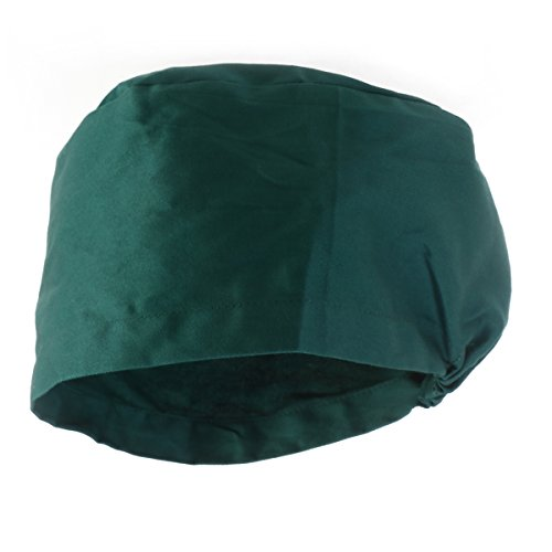 aea247949ce59 Tinksky Unisex Surgical Scrub Cap Round Bouffant Doctor Cap Nurse Hats  (Green)